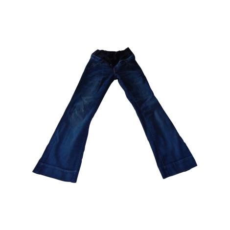 Jean Future Maman H&M Bleu, bleu marine, bleu turquoise
