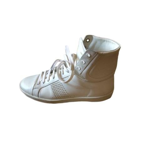 Baskets SAINT LAURENT Blanc, blanc cassé, écru
