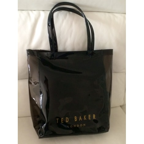 Sac pochette en tissu TED BAKER Noir