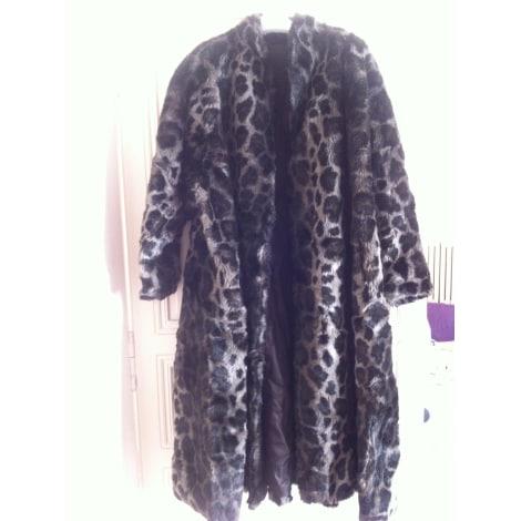 manteau en fourrure michel alexis 38 m t2 imprim s animaliers 2971378. Black Bedroom Furniture Sets. Home Design Ideas