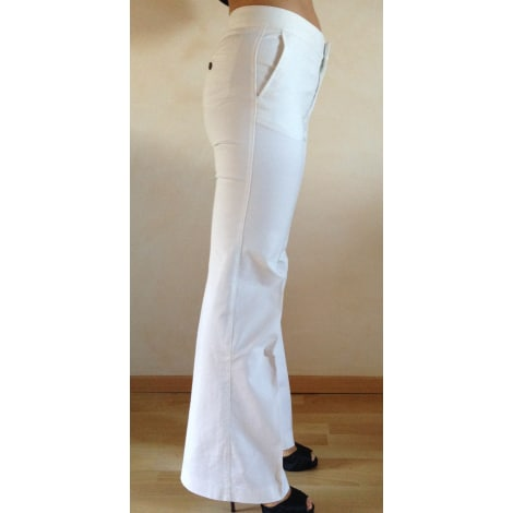 bf3567c2 Wide Leg Pants, Elephant Flares ZARA 40 (L, T3) white good sold by ...