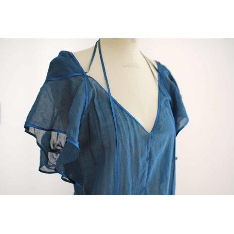 Robe tunique VANESSA BRUNO Bleu, bleu marine, bleu turquoise