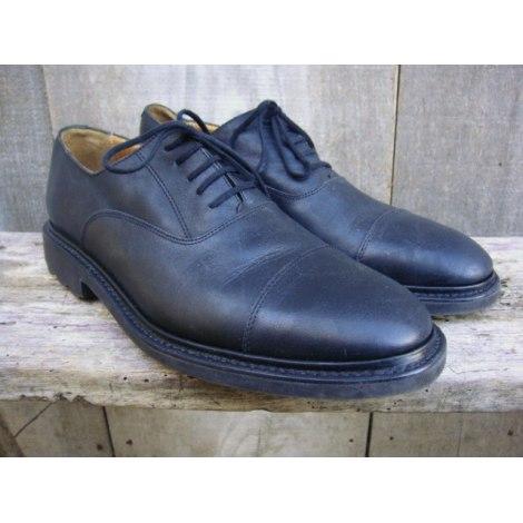 Chaussures à lacets JOSEPH FENESTRIER Noir