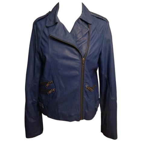 593a708a22 Kookai. Leather Jacket. 36 (S ...
