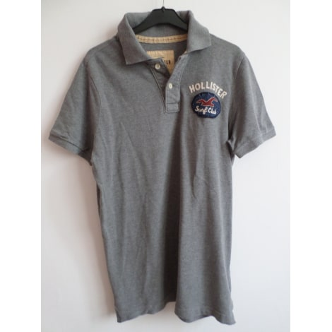 Polo HOLLISTER Gris, anthracite