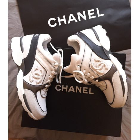 1b62ce7a7043 Sneakers CHANEL 36 white new sold by Anais... - 3325303