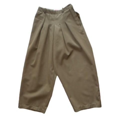 Pantalon carotte KENZO Kaki