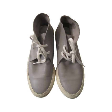 Chaussures à lacets  PIERRE HARDY Gris, anthracite