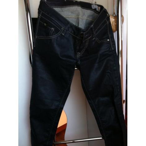 Jeans slim MELTIN' POT Bleu, bleu marine, bleu turquoise