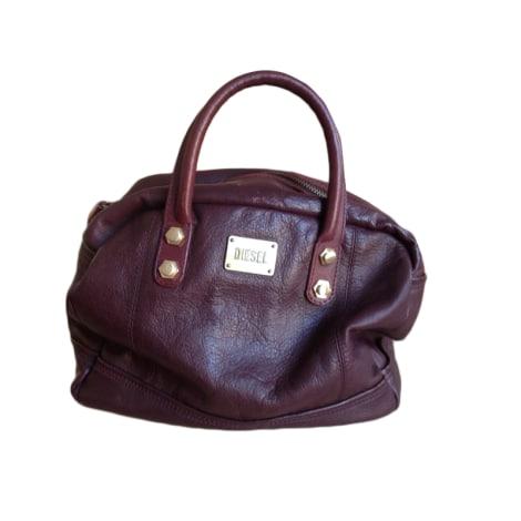 sac main en cuir diesel rouge vendu par justine88526061 3545490. Black Bedroom Furniture Sets. Home Design Ideas