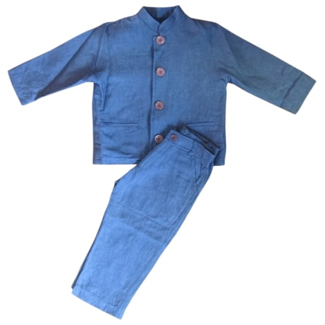 Pants Set, Outfit BABY DIOR Blue, navy, turquoise