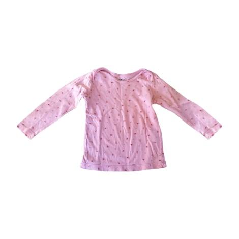 Top, tee shirt BONTON Rose, fuschia, vieux rose