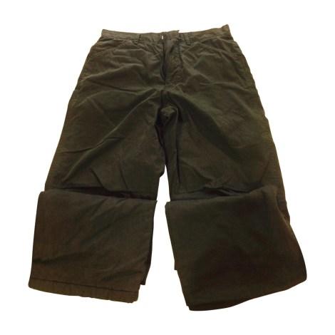Pantalon droit CALVIN KLEIN Kaki