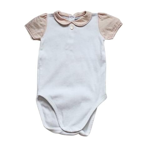 Top, t-shirt BABY DIOR Bianco, bianco sporco, ecru
