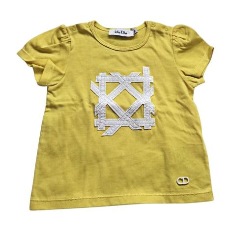 Top, t-shirt BABY DIOR Giallo