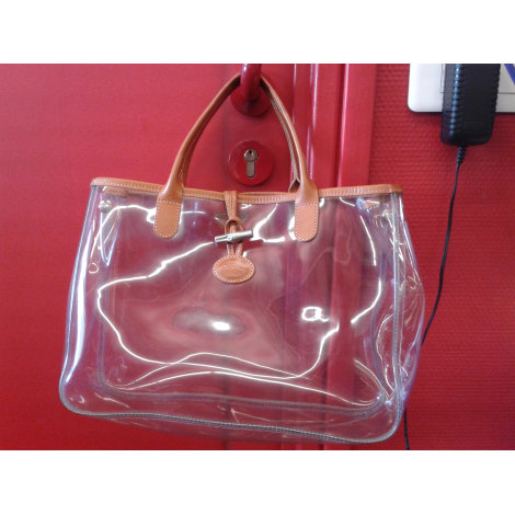 longchamp sac à dos transparent