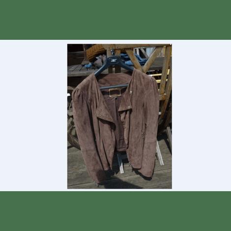 Zipped Jacket CAROLL 42 (L XL, T4) brown very good sold by berny2088 ... 125db1967b7