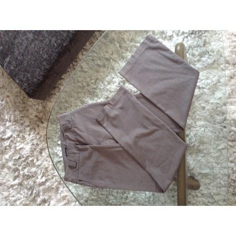 Pantalon droit SINÉQUANONE Marron