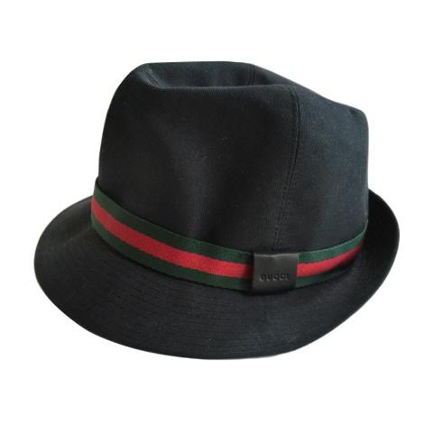 9e74f88021 Cappello GUCCI 56 nero vendu par Marie ma cherie99790 - 3778212