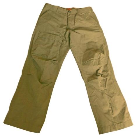Pantalon droit HUGO BOSS Kaki
