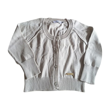 Gilet, cardigan BABY DIOR Bianco, bianco sporco, ecru