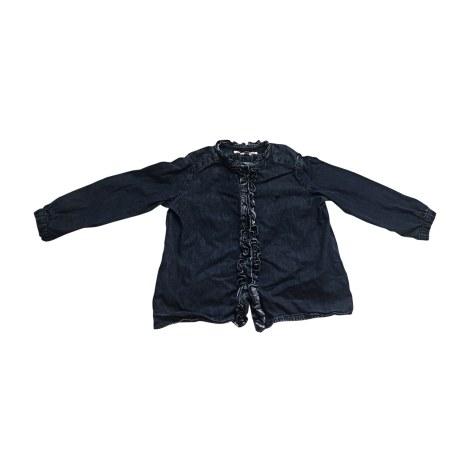 Camicia BONPOINT Blu, blu navy, turchese