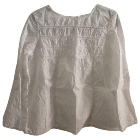 Blusa BONPOINT Bianco, bianco sporco, ecru