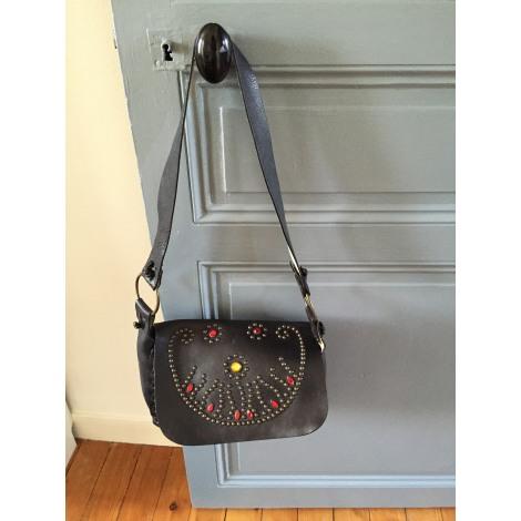 sac en bandouli re en cuir ash noir vendu par le vide dressing de 3966348. Black Bedroom Furniture Sets. Home Design Ideas