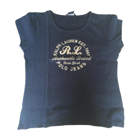 Top, T-shirt RALPH LAUREN Blu, blu navy, turchese