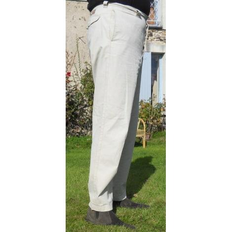 pantalon droit marlboro classics 46 xxl blanc vendu par max angers 4140855. Black Bedroom Furniture Sets. Home Design Ideas