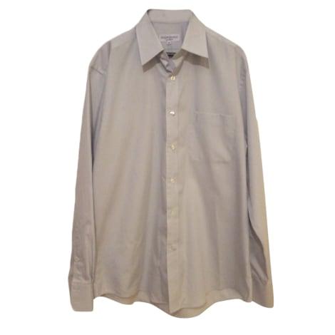 chemise yves saint laurent 41 42 l gris 4143827. Black Bedroom Furniture Sets. Home Design Ideas