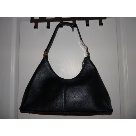 sac en bandouli re en cuir renouard noir vendu par castine 4156131. Black Bedroom Furniture Sets. Home Design Ideas