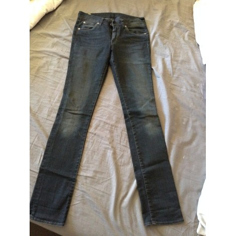 Jeans droit RENHSEN Noir