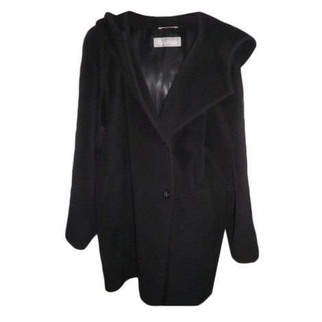 manteau max mara 38 m t2 noir vendu par lily21 4228276. Black Bedroom Furniture Sets. Home Design Ideas