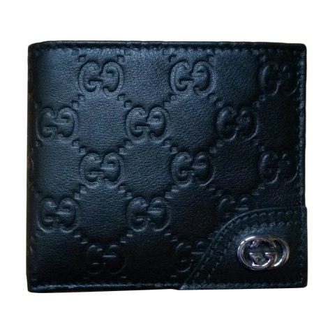 Portafoglio gucci nero vendu par closet closet 4377076 for Portafoglio gucci guccissima