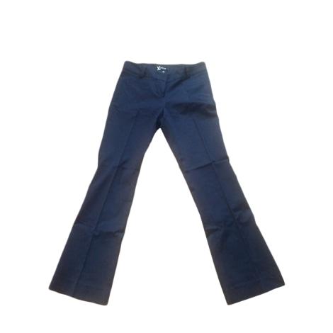 Pantalon évasé SINÉQUANONE Bleu, bleu marine, bleu turquoise