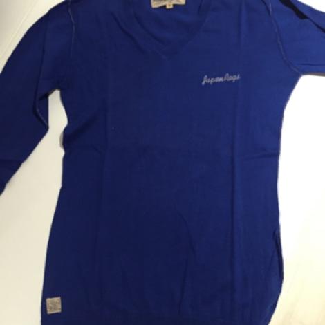 Pull JAPAN RAGS Bleu, bleu marine, bleu turquoise