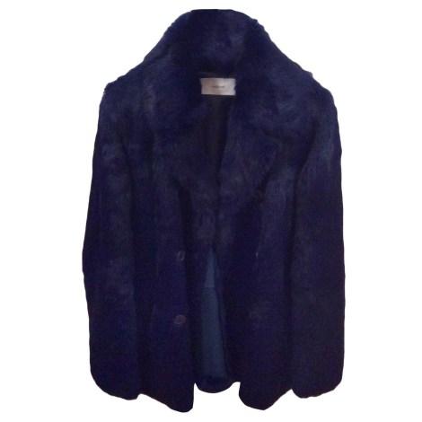 e04453a24d Fur Coat CACHAREL 38 (M, T2) blue - 4527542