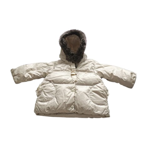 Down Jacket BABY DIOR White, off-white, ecru