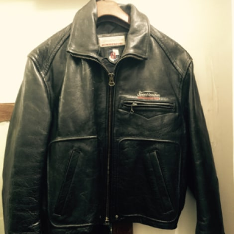 newest 03f1d 6deed Leather Zipped Jacket