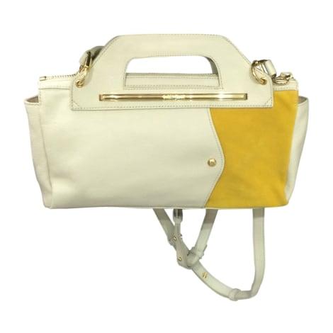 sac main en cuir see by chloe blanc vendu par le vide dressing de la boutique le parc 4717083. Black Bedroom Furniture Sets. Home Design Ideas