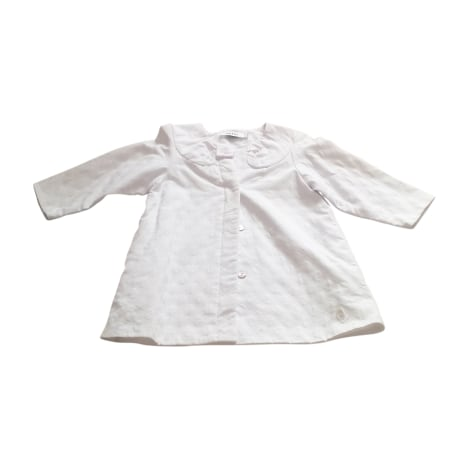 Coat BABY DIOR White, off-white, ecru