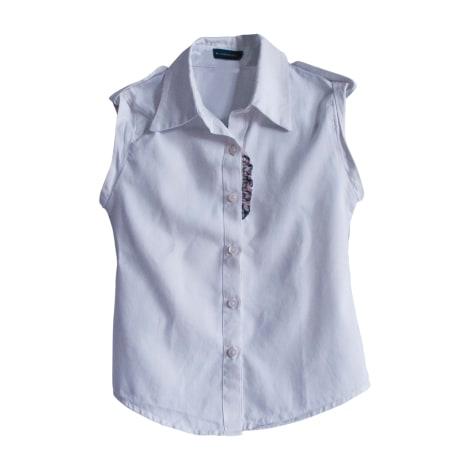 Camicia BURBERRY Bianco, bianco sporco, ecru
