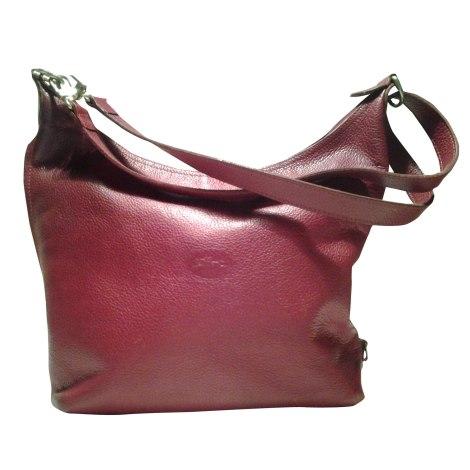 sac main en cuir longchamp rouge vendu par ineliah 4824492. Black Bedroom Furniture Sets. Home Design Ideas