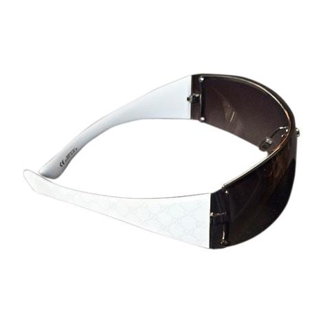 Sunglasses GUCCI White, off-white, ecru