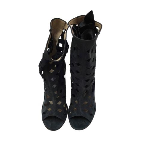 Bottines & low boots à talons JIMMY CHOO Vert