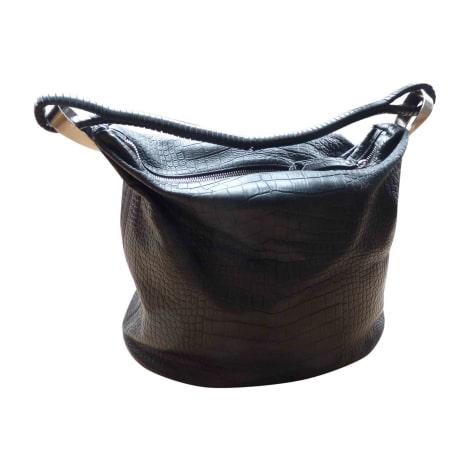 sac en bandouli re en cuir kenzo noir vendu par castine 4963419. Black Bedroom Furniture Sets. Home Design Ideas