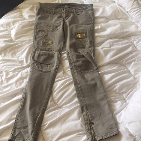 Jeans slim PINKO Kaki
