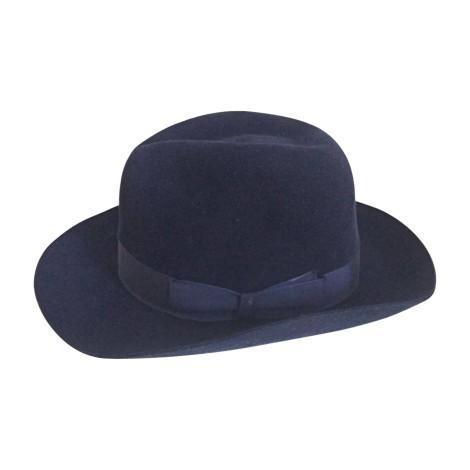 Chapeau BORSALINO Bleu, bleu marine, bleu turquoise