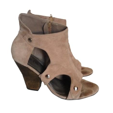 Bottines & low boots à talons BEL AIR Rose, fuschia, vieux rose